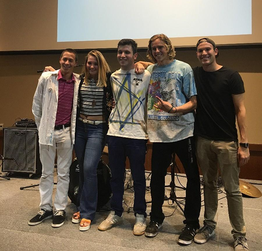 The Open Mic Champs impressed at Battle of the Bands despite its last-minute assembly.