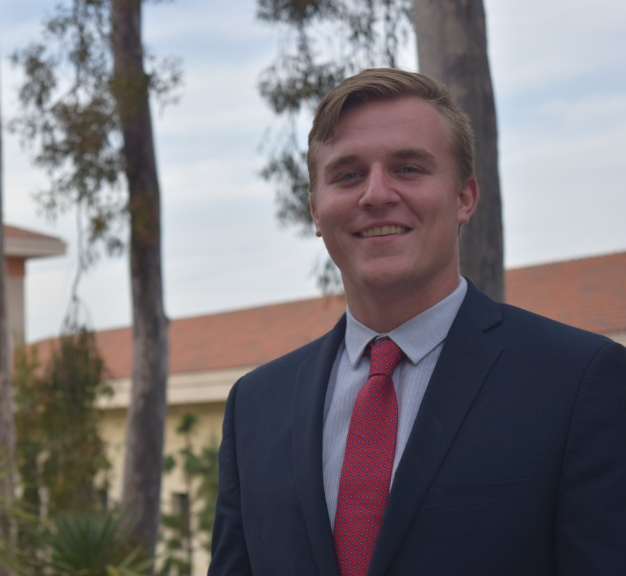 Vice President of External Relations candidate Dylan Colliflower