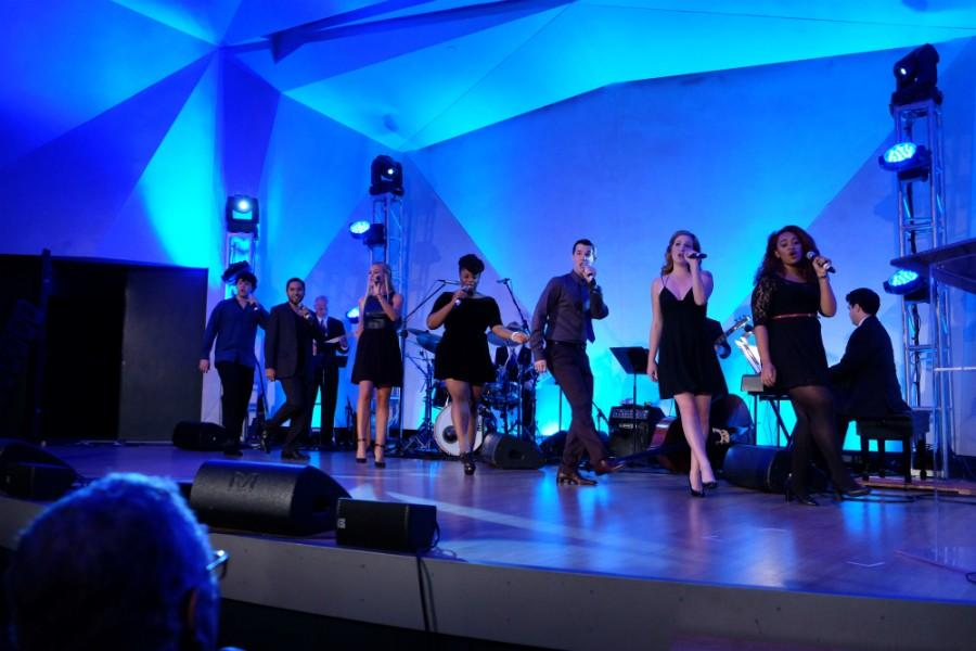 Four SDSU singers compete at Campus Superstar