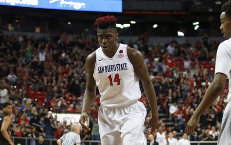 SDSU men's basketball claims 67-55 win over Nevada in MW Tournament semifinals
