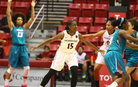 SDSU women's basketball transition from coach Burns to Terry