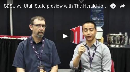 VIDEO: The Herald Journal's Shawn Harrison discusses SDSU vs. Utah State