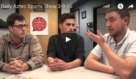 VIDEO: The Daily Aztec Sports Talk — MW Tourney edition