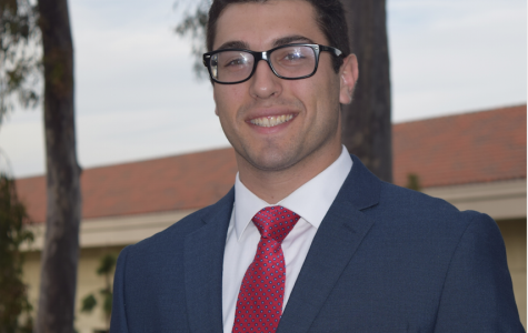 Vice President of Financial Affairs candidate Alex Shapiro