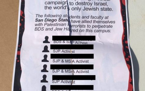 Students meet with Hirshman regarding 'terrorist' fliers