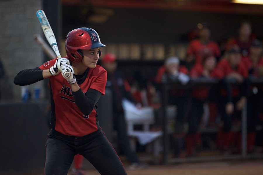 SDSU softball still searching for offensive groove in MW action
