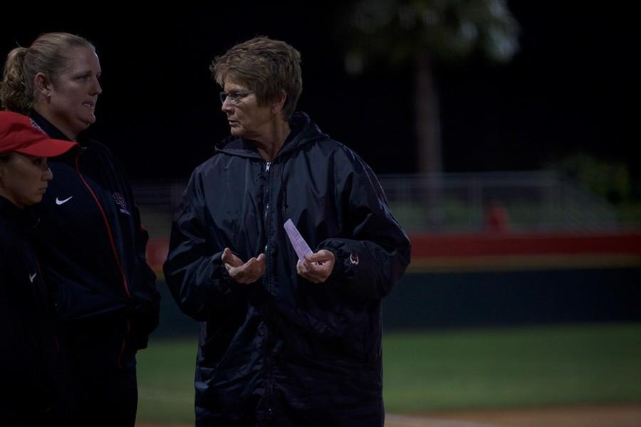 SDSU Softball coach