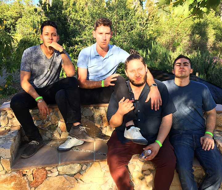 Student rock band plays opening set at SXSW