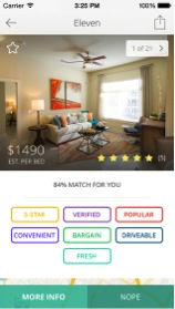 Three apps ease the housing searching process