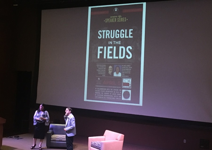 Guest speakers at SDSU honor Cesar Chavez by advocating for improved farming conditions