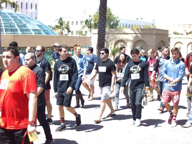 SDSU students honor Holocaust survivors