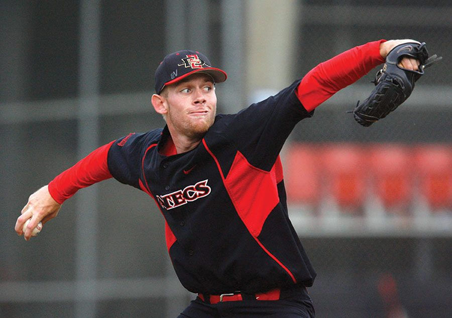 Texas Christian University Horned Frogs vs. San Diego State University Aztecs  First game in three game series.  Sean Hoelscher (2-1, 7.00) vs. Stephen Strasburg (8-0, 1.28)