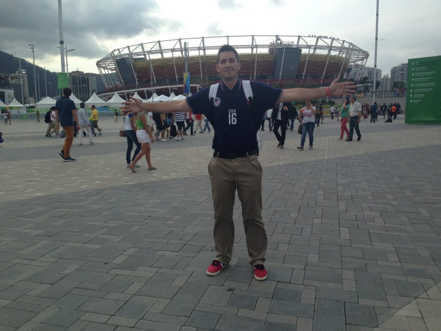 SDSU student has experience of a lifetime at 2016 Summer Olympics