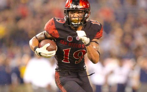 Pumphrey Runs Wild in the Aztecs' 45-40 Win Over Berkeley