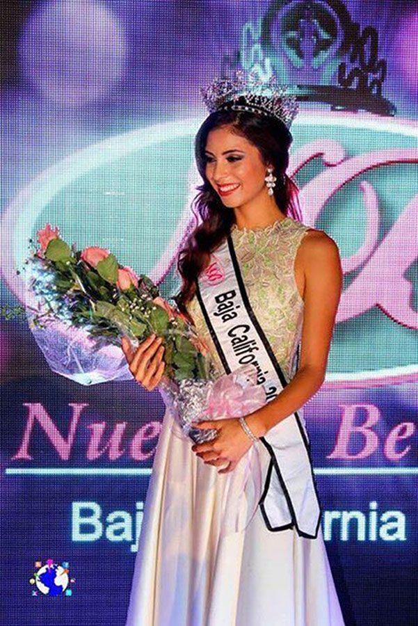Miss Baja California represents two countries