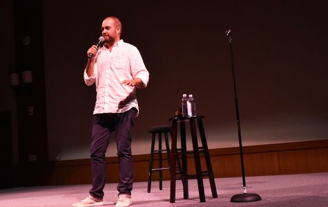 Transgender comedian visits Montezuma Hall