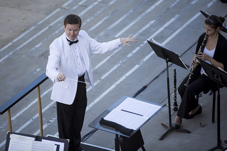 Wind symphony holds free outdoor concert