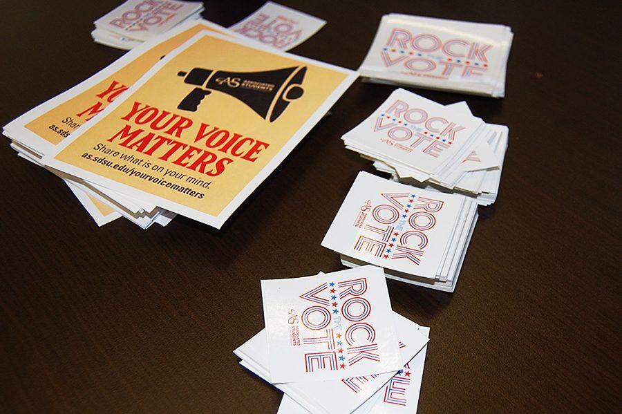 Rock the Vote urges student registration