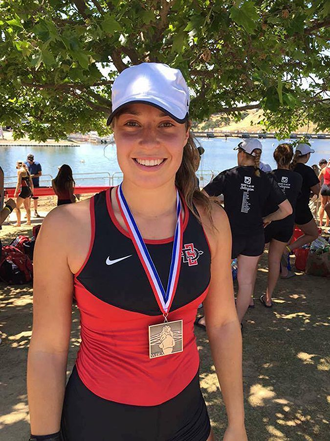 International student shines in SDSU athletics