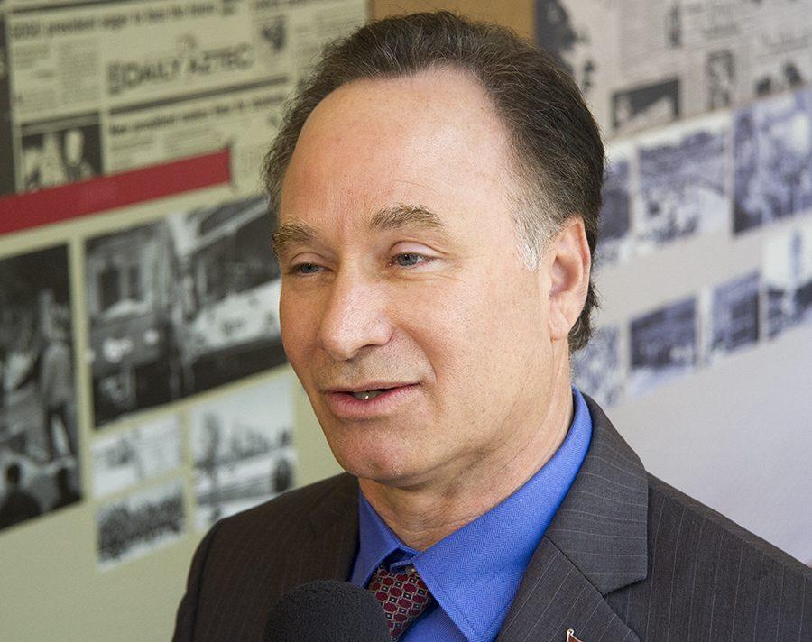 Former SDSU President Elliot Hirshman.