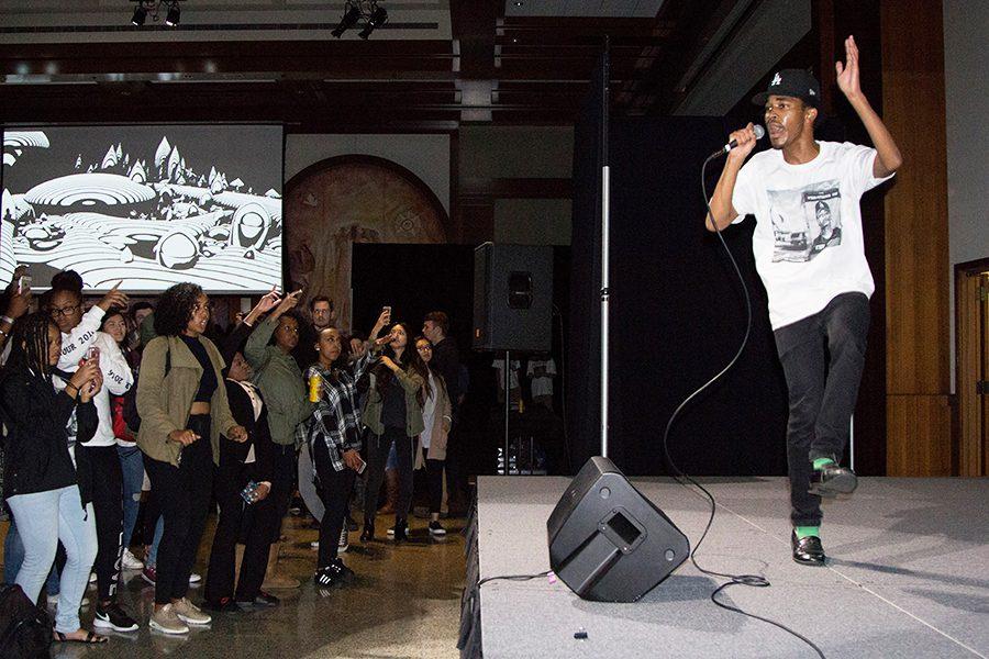 Aspiring professional rapper dreams