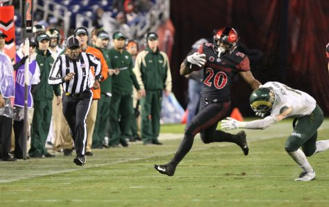Aztecs avenge losses, defeat Wyoming 27-24 to take home MW title