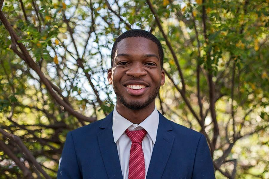 Associated Students Presidential candidate Chimezie Ebiriekwe