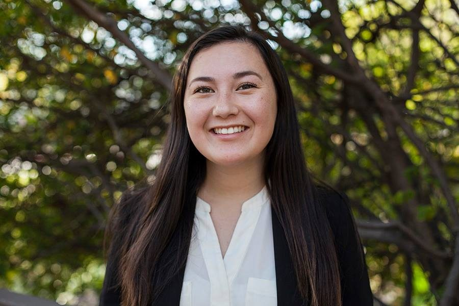 Associated Students Vice President of University Affairs candidate Brie Hornig