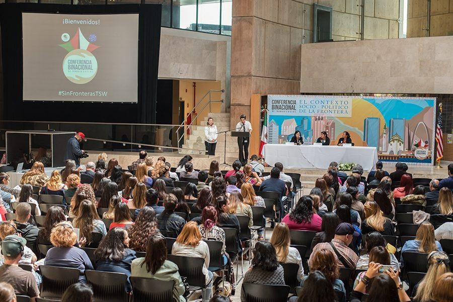 Binational conference focuses on US-Mexico border