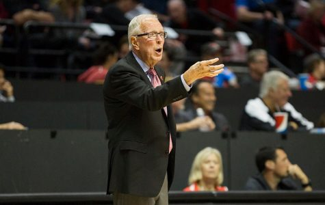 San Diego State's men's basketball head coach Steve Fisher is retiring.