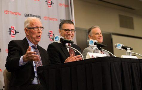 Coach Fisher bids farewell to SDSU