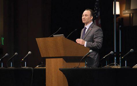 Farewell Q&A: President Hirshman