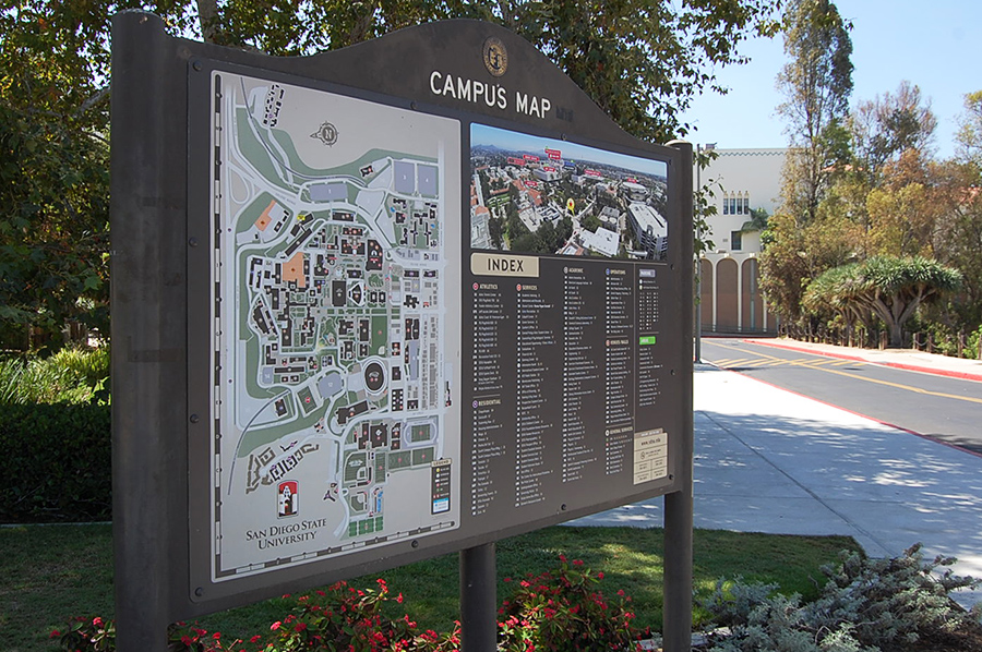 Sdsu Campus Map Pdf.Two University Departments Change Their Names The Daily Aztec