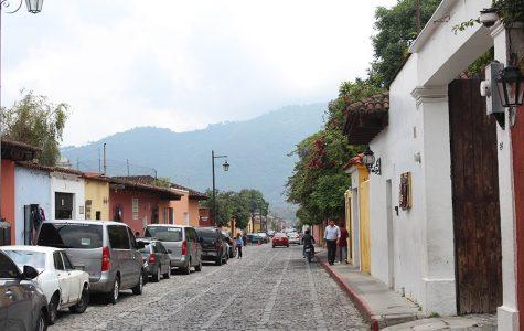 Las calles de Antigua, Guatemala