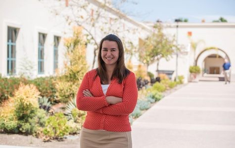 Sara Vogel was hired as SDSU's first Title IX and Student Conduct Investigator in March. Photo by Joe Kendall.