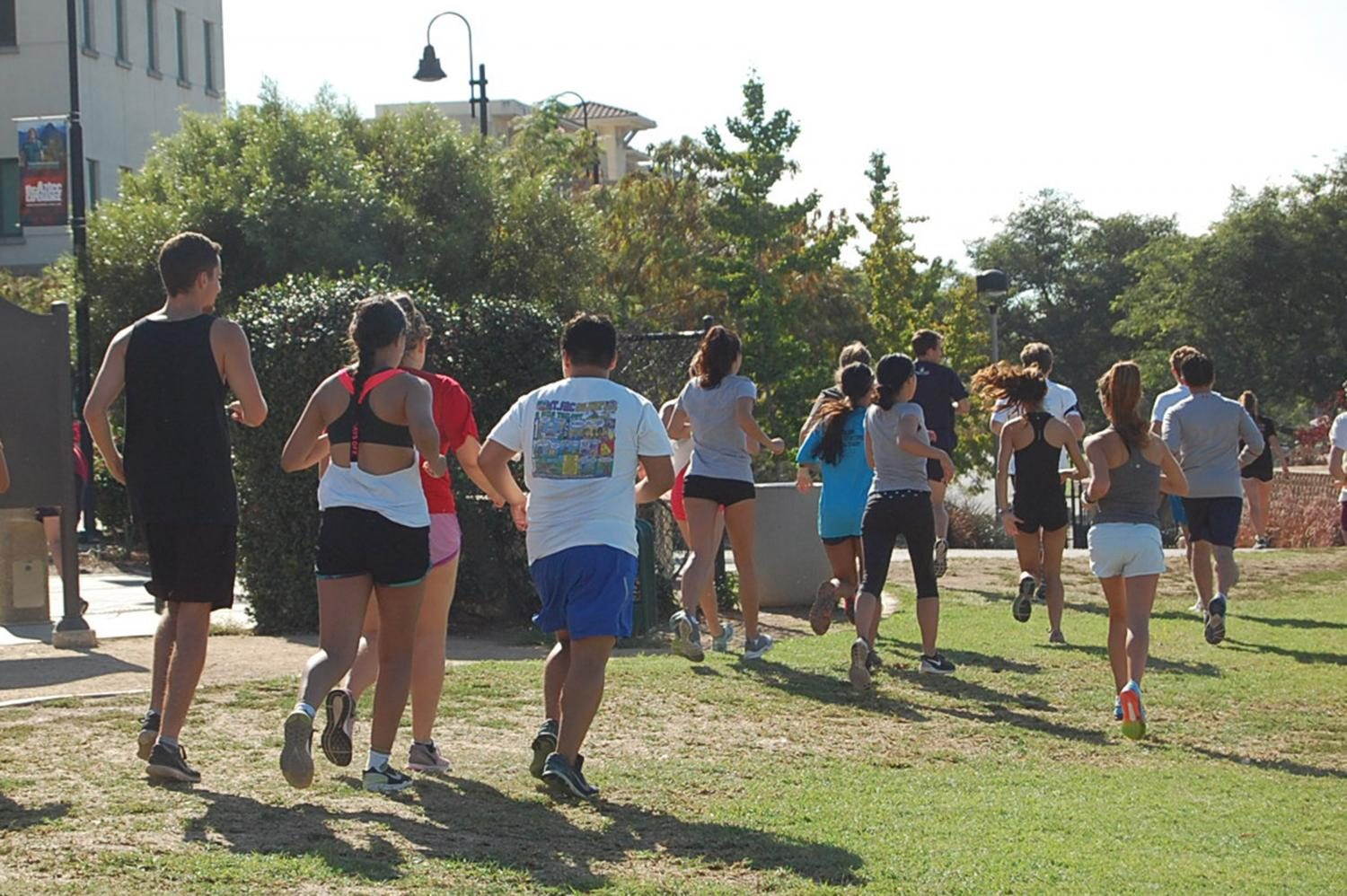 Running club takes strides on and off campus