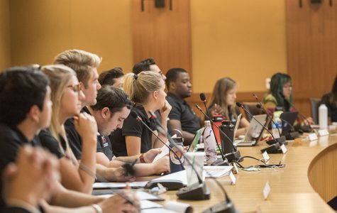 The Associated Students University Council convenes for its bi-weekly meeting Sept. 27.