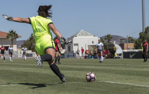 Women's soccer loses to UNLV on own goal