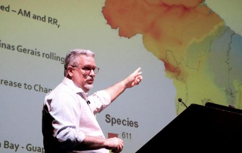 Brazilian conservation expert visits SDSU to share message of sustainability
