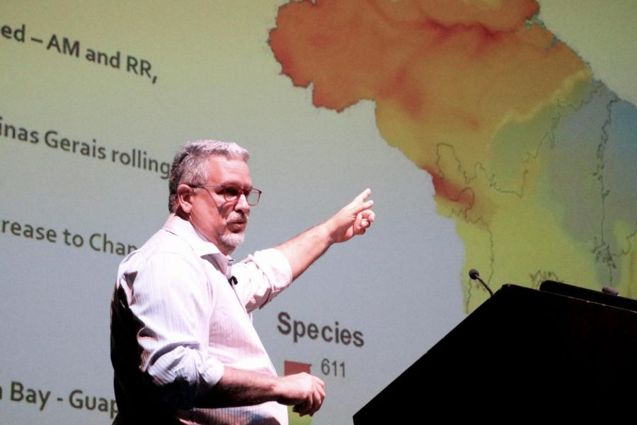 Reinaldo Lourival, an expert in environmental conservation, spoke with SDSU about the efforts needed to help sustain Brazils ecosystems.