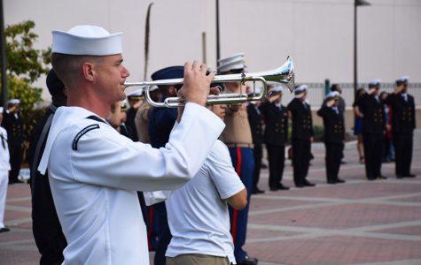 Student Veterans Organization honors fallen alumni during homecoming week