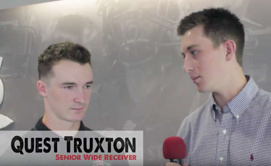 Straight from the Bench -- Pregame interview with Quest Truxton