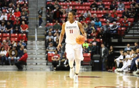 Mitchell busts out in Aztecs 94-63 victory over Eastern Illinois