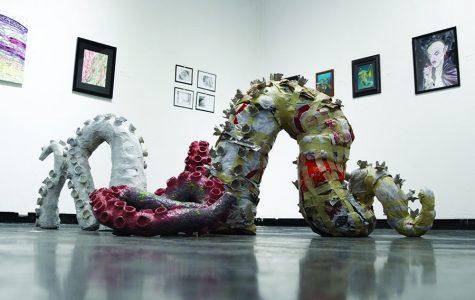 'Built to Last' art exhibit showcases senior pieces
