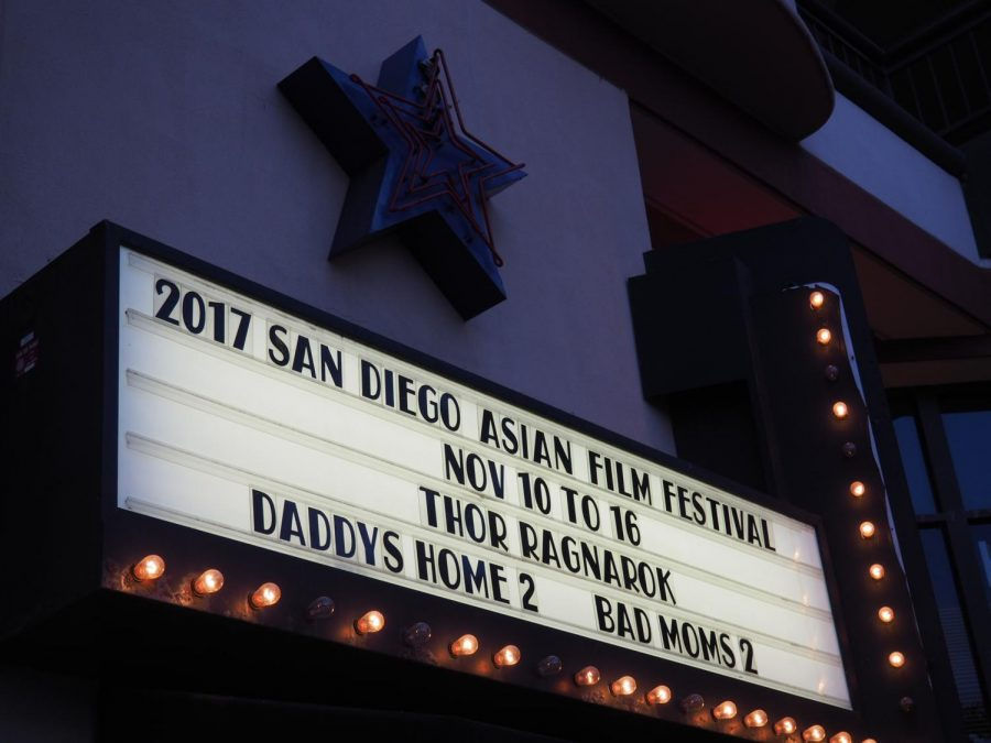 The San Diego Asian Film Festival runs until Nov. 18 and is being screened at locations like the Ultrastar Mission Valley at Hazard Centre.