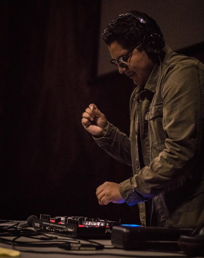 Gustavo Cristobal won the top spot in this year's DJ battle put on by Aztec Music Group on Nov. 9, and will be one of the DJs performing in the February silent disco.