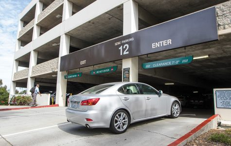 Students decry parking structure closures