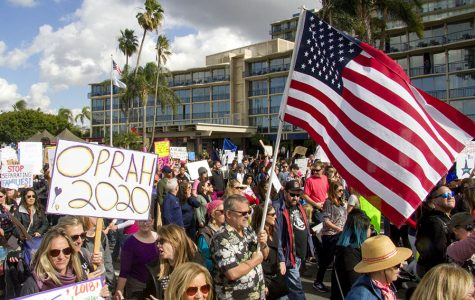 San Diego Women's March: 'Hear our vote!'