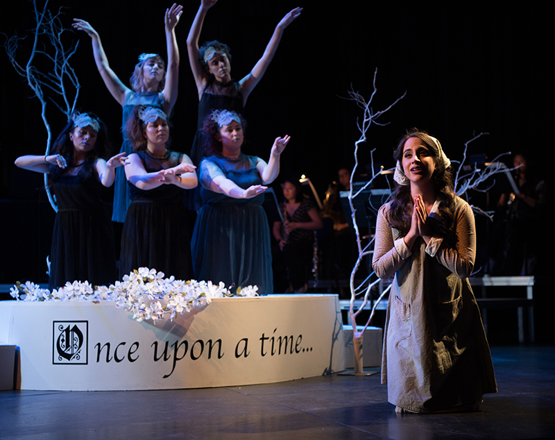 Members of the San Diego State Opera perform in the 2017 production of