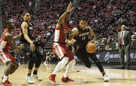 Aztecs defend home court with 94-56 shellacking of UNLV